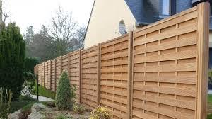 Cloture En Bois Pour Jardin Atonnant Sur Dacoration Intarieure En Des Clotures De Jardin Design Pour Delimiter Avec Style