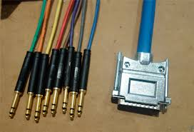 how to make db25 multicore tascam snake cable db25 bantam multicore