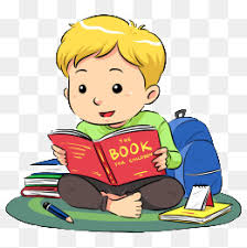 reading boy boy clipart reading clipart hand painted png image and clipart