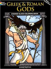 greek and roman s stained gl coloring book dover stained gl coloring book arkady roytman 9780486469959 amazon books