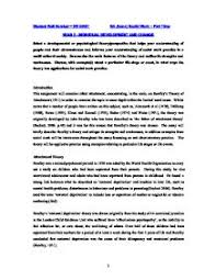 kohlbergs cognitive development theory essay a level psychology  individual development and change