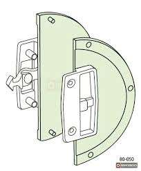 screen door lock sliding from outside patio shield closet grill doors retractable for glass sl