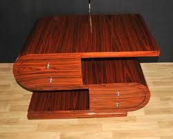 pictures of art deco furniture. Art Deco S Shape Coffee Table Rosewood Modernist Furniture Pictures Of N