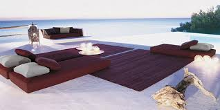 modern beach furniture. Outdoor Living Idea \u2013 Eastern-inspired Beach Setting From Paola Lenti Modern Furniture I