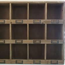 office cabinet organizers. Rustic Cabinet, Large Wood Mail Box, Wall Mount Office, Shabby Chic Shelving, Office Cabinet Organizers
