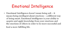 Emotional Intelligence Ei Adorable Being Emotional