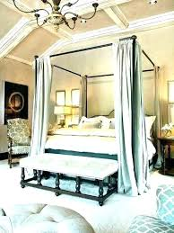 Splendid Luxury Canopy Bed Curtains Decorating With Plants Chapman ...