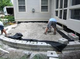 cost of patio pavers best raised stone patio ideas patio cost patio design ideas cost patio
