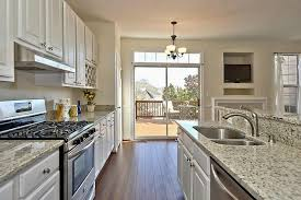 dallas white granitetransitional kitchen dc metro