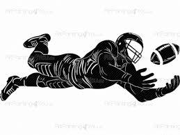 Muurstickers Voetbalspeler Amerikaanse Voetbal Artpainting4youeu