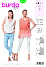 Burda Patterns Beauteous Women's Tops Burda Patterns All Sewing Patterns
