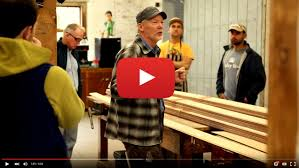 geoff kerr builds annapolis wherries at the woodenboat school