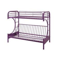 purple furniture. Eclipse Twin Over Purple Full Metal Kids Bunk Bed Furniture