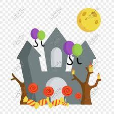 <b>Halloween castle castle</b> cartoon <b>pattern</b> png image_picture free ...