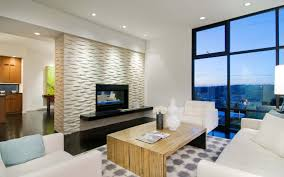 White Modern Living Room Decor American Living Room Design