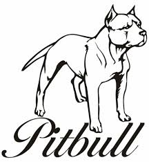 Small Picture Coloring Pages Pitbull Coloring Pictures Free Download Pitbull