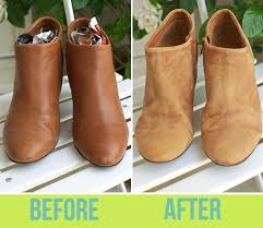leather to suede how fix scuffed shoes scratched faux