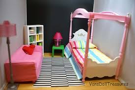 ikea doll furniture. This Is A Mock Bedroom Just To Show Parts Of The Set. Bed From Gloria Playset. I Didn\u0027t Get Chance Paint It Yet, But Works Perfectly Ikea Doll Furniture
