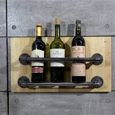 Decorative Wine Bottle Holders 60set Industrial Pipe Wine Racks Metal Decorative Wine Holder Wall 10