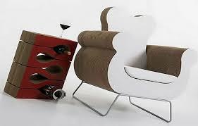 Modern recycling cardboard furniture design ComQT