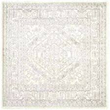 outdoor rug square foot square area rug square area rugs rugs the home depot ivory silver outdoor rug square