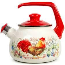 <b>Чайник эмалированный</b> Metrot Золотой Петушок 196631 со ...
