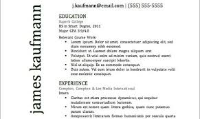 The Best Resume Ever 10 Best Resume Format Ever Writtenthe Resumes ...