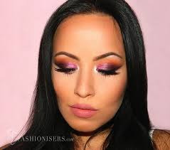 pretty purple smokey eye makeup tutorial