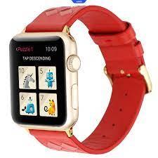 Dây Đeo Da Thật Chất Lượng Cao Cho Đồng Hồ Thông Minh Apple Watch Series 1  / 2 / 3 / 4 giảm tiếp 178,200đ