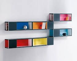 wall mounted open shelving boxes