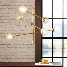 mid century modern ceiling light. INK+IVY Cyrus Gold Chandelier Mid Century Modern Ceiling Light T