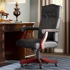 high back leather chairs. Alcott Hill Kirkland High-Back Leather Executive Chair \u0026 Reviews | Wayfair.ca High Back Chairs G