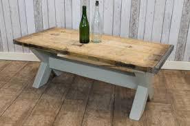 reclaimed coffee table rustic country