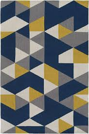 blue yellow rug stylish and quatrefoil outdoor with regard to 7