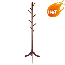 Sturdy Coat Rack Awesome Sturdy Coat Rack Solid Rubber Wood Hall Tree With Tripod Base 32