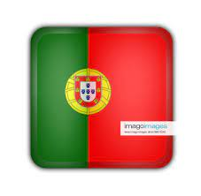 Stockfoto flag of portugal flag of portugal, square but