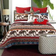elephant duvet cover brown red animal twin quilt set southwest theme bedding uk elephant duvet cover