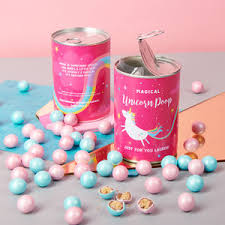 personalised magical chocolate unicorn in a can unicorns