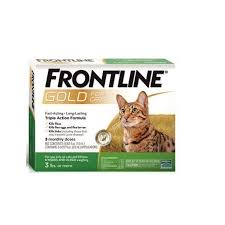 Frontline Gold For Cats 3lbs Or More 3 Monthly Doses
