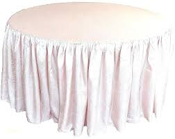 round fitted table covers best inch plastic elastic