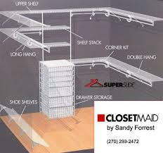 Exciting Wire Closet Shelves Best 25 Shelving Ideas On Pinterest