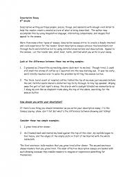 cover letter example for descriptive essay descriptive essay cover letter a descriptive essay example college resume ideas samplesexample for descriptive essay