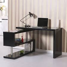 foldable office desk. Image Is Loading HomCom-Foldable-Convertible-Rotating-Office-Desk -Shelf-Combo- Foldable Office Desk O