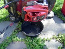 blog 6 nowhere to drain oil drains peoples desire to maintain toro model 20071 oil change