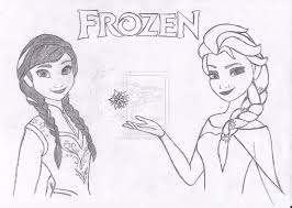 Small Picture coloring pages of anna and elsa little Princess Anna and queen