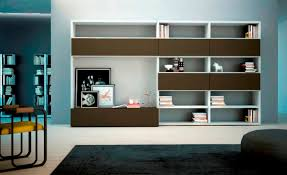 Small Picture Wall shelving units for living room