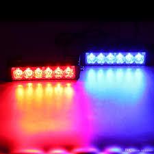 Led Blue Police Lights 36w 12v Strobe Car Warning Light Led Daytime Running Police Emergency Light For Truck Motorcycle Car Clt_42p Led Strobe Lights Led Strobe Lights