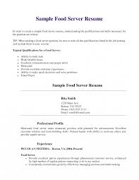 Waiter Resume Sample Restaurant Waitress Resume Sample Host Hostess Document Club 38
