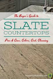 slate countertops with pattern text overlay slate countertops er s guide pros cons