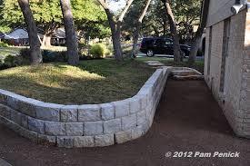 build retaining wall around tree roots round designs